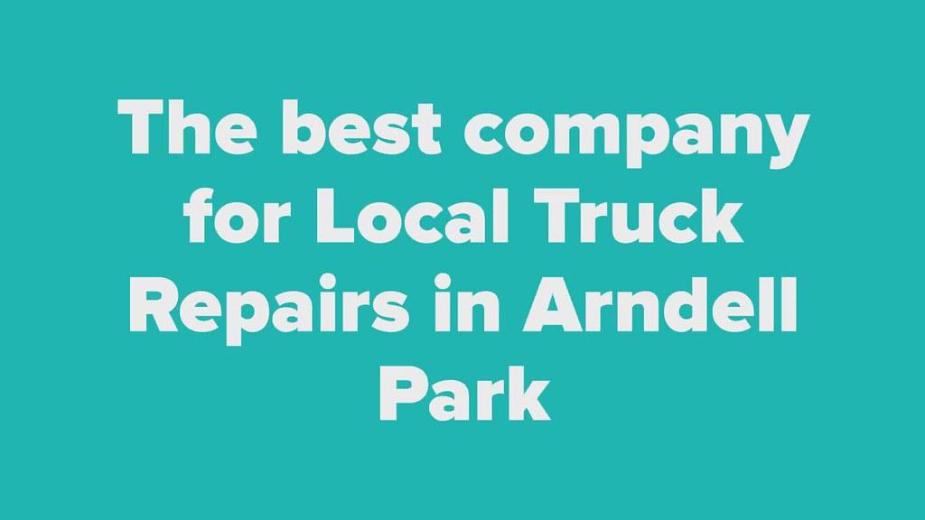 Local Truck Repairs in Arndell Park