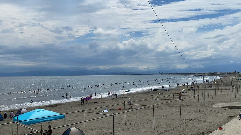 奥运前的江之岛