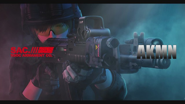 SAC(SSOC Armament Co,) AKMN Battle Rifle Preview(Second Life Machinima)