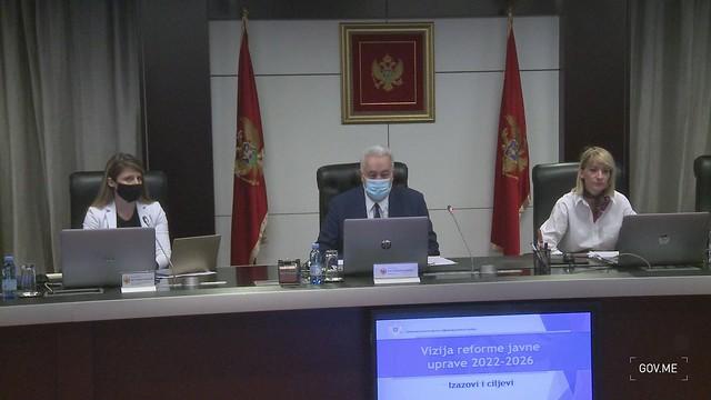 Prva sjednica Savjeta za reformu javne uprave (15.07.2021.)