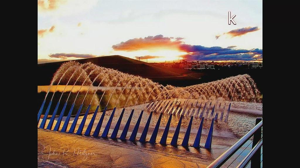 Homebush Olympic Park Fountain