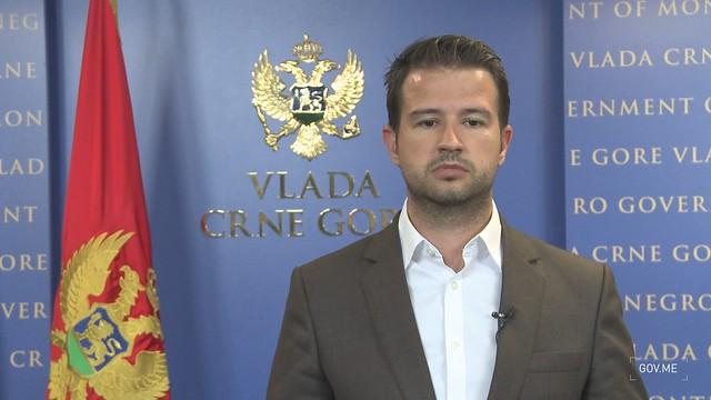 Jakov Milatović - izjava o ograničavanju cijena hljeba