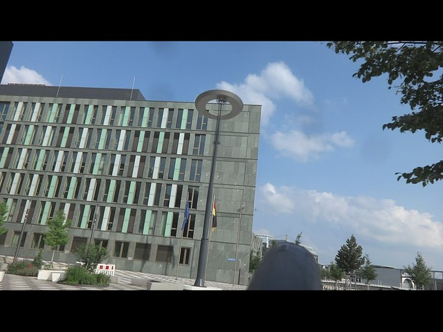 2018 Berlin Drehmoment kinetische Skulptur von Jan & Tim Edler (realitiesunitedrealU) Stahl 15mH Alexanderufer 2 in 10117 Mitte