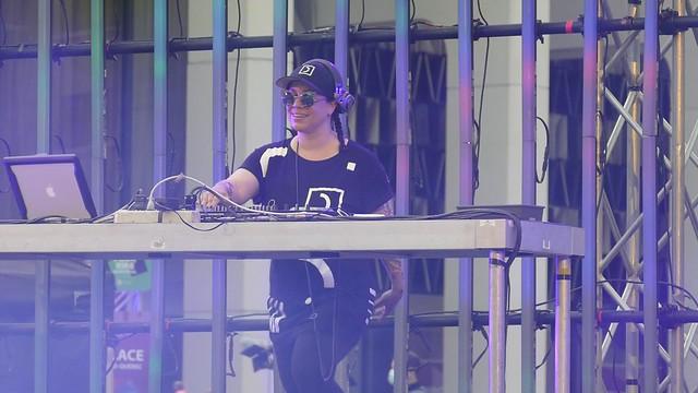 Panasonic FZ1000, 4K, DJ Set, Place des Festivals, Montréal, 15 July 2021