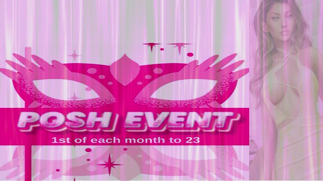 POSH Event – August 2021 - Second Life event