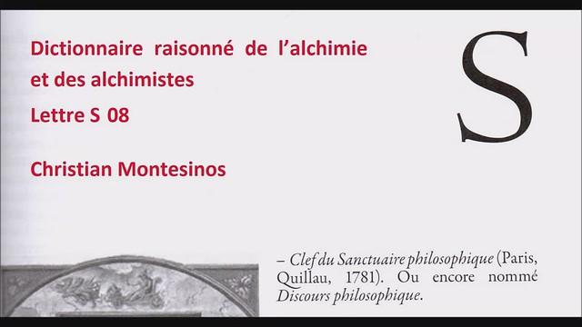 Dictionnaire raisonné-S08