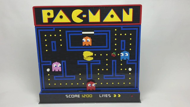Classic LEGO Pac-Man Video