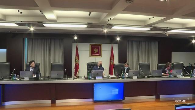 38. sjednica Vlade Crne Gore (09.09.2021.)