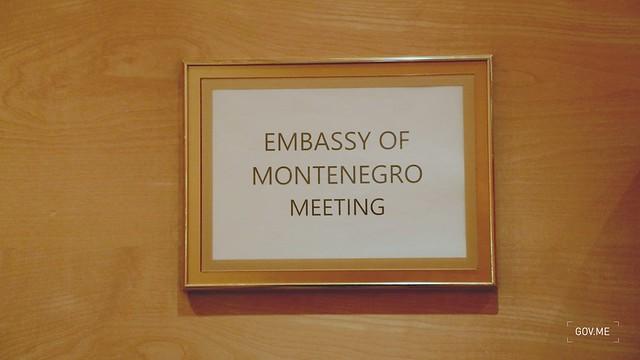 Dritan Abazović - sastanak sa crnogorskom dijasporom u Luksemburgu - kadrovi