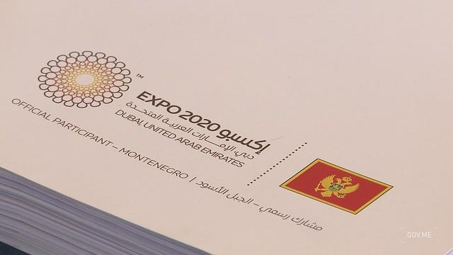 Zdravko Krivokapić i Jakov Milatović - Informatori za Expo 2020 Dubai (22.09.2021.)