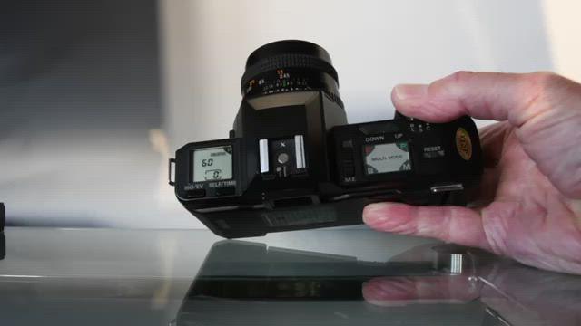 Chinon CP-7m Shutter
