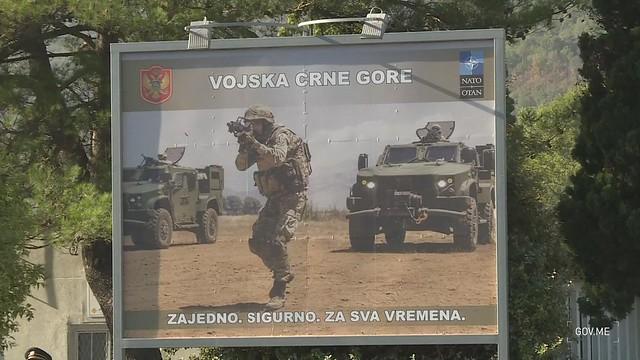 Svečana ceremonija povodom Dana Vojske Crne Gore (04.10.2021.)
