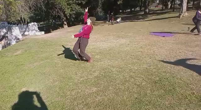 Jueves 1 de julio Expericencia Bailable en parques
