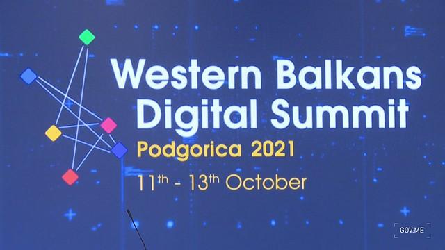 Zdravko Krivokapić - IV Digitalni samit zemalja Zapadnog Balkana (13.10.2021.)
