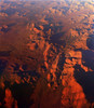 Long shadows in the late afternoon in Central Australia. This one at 37,000 ft