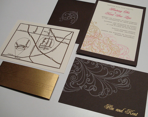 Wedding Invitations - Hiu and Kent | by UglyKitty