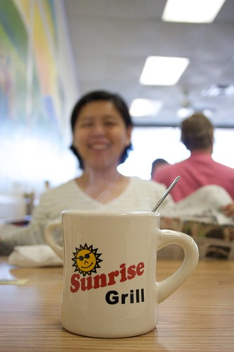cup coffee breakfast sunrise georgia jennie grill mug augusta