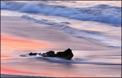 water rock sunrise surf bermuda mywinners