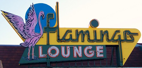 sunrise colorado neon flamingo neonsign flamingolounge puebloco