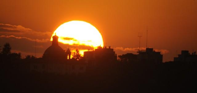 Sunset at Monte Mario