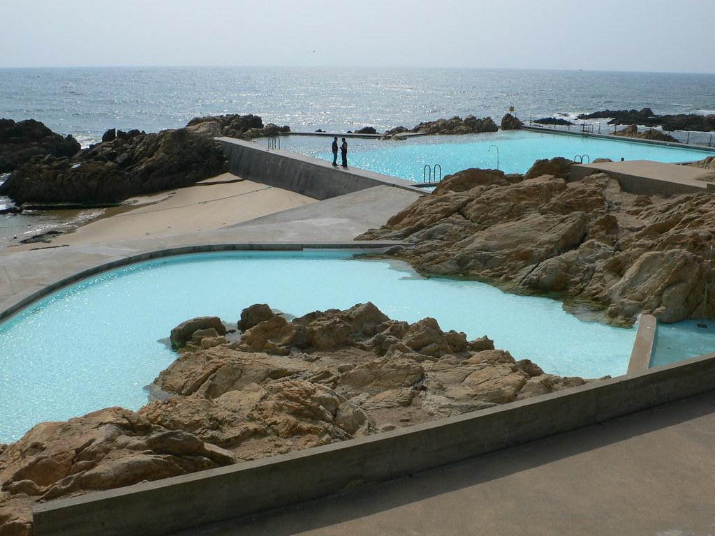Ocean Swimming Pool, Leca de Paleira, Porto, Portugal