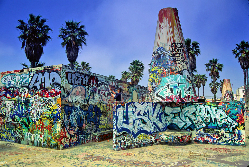 Graffiti - At the Beach 2