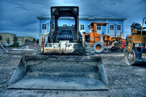 sky building truck seat machine davie hdr highdynamicrange