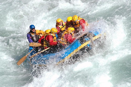 White water rafting | by NatBat
