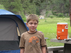 Camping at Fenton Lake