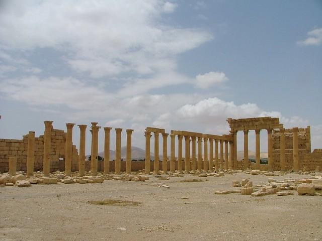 Baal Temple - Palmyra (Palmira), Syria