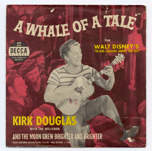 Image result for kirk douglas vinyl cover a whale of a tale