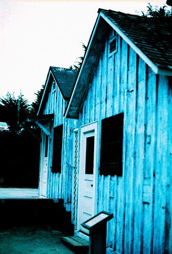 Blue Houses   by Bryan Davidson
