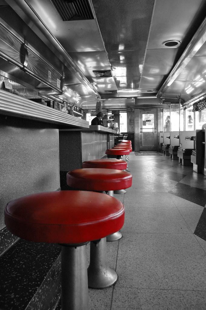 Steel Trolley Diner   Original 1950's Diner  Good food and p