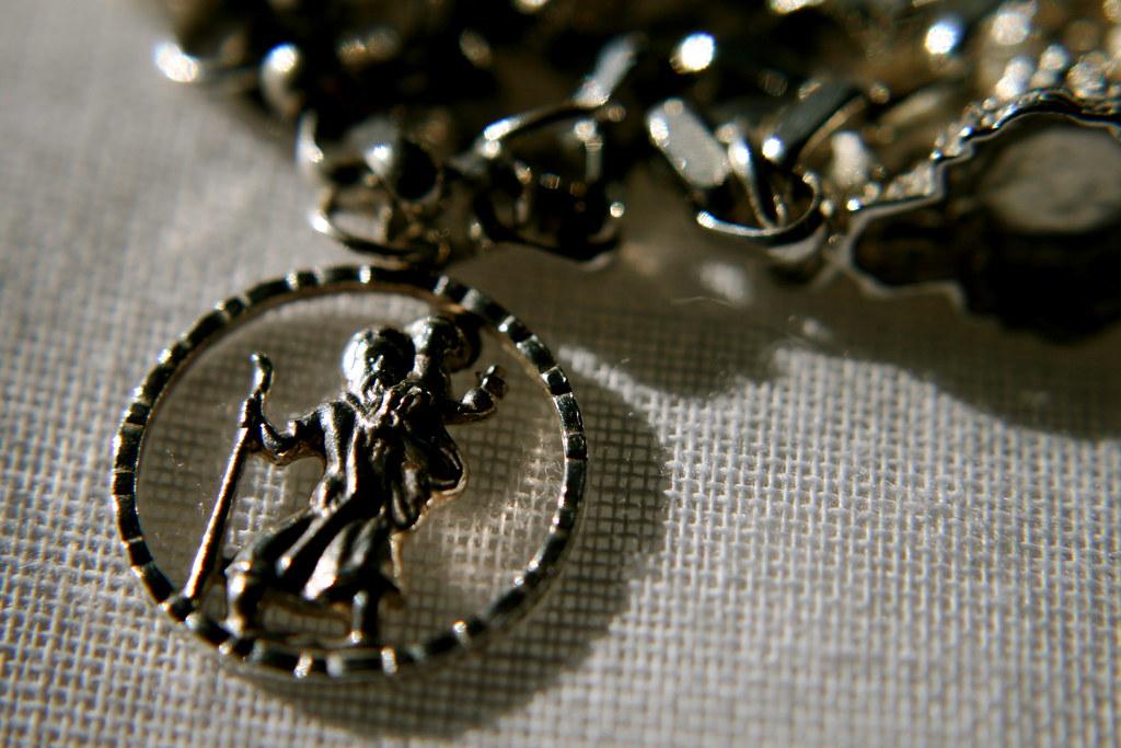 Charm Bracelet: St Christopher