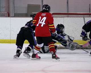 Keeping their goalie busy | by u16panthers