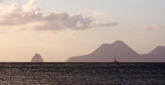 Le diamant au crépuscule- Martinique