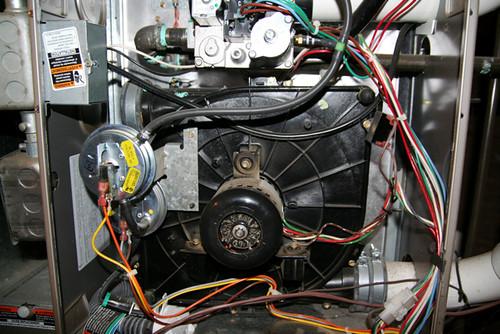 Gas Furnace Blower Motor -- IMG_9823 | by stevendepolo