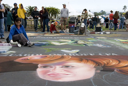 Sidewalk art at the Il Madonnari Festival | by linoleum jet