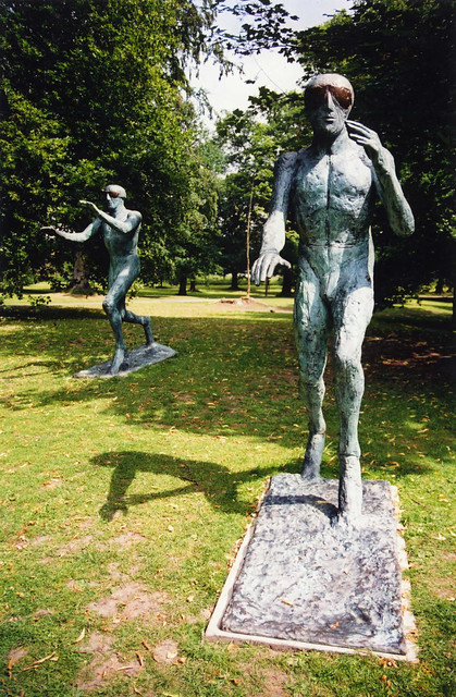 Elizabeth Frink - Flying Men, Bronze 1982, Yorkshire Sculpture Park (YSP)