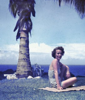 At The Beach House, Caraballeda, Venezuela, 1950s   by A.Davey