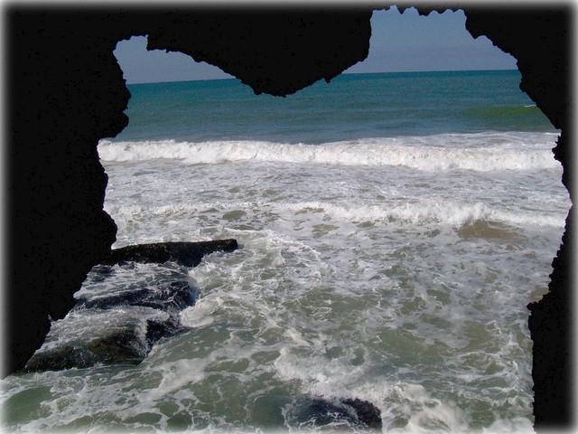 Beautiful Atlantic-ocean in Morocco