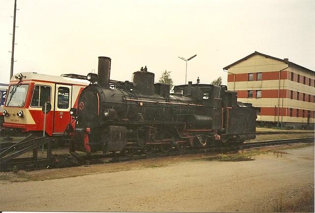 ÖBB0616 Gmünder Schmalspurbahnen Eine 399 in Gmünd NÖ