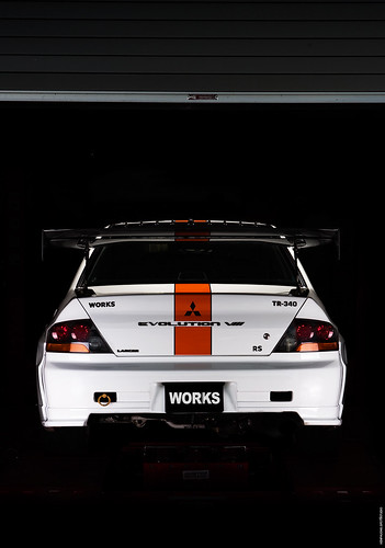 works evo time attack back view | by Ken Phuong