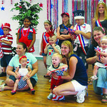 Inglis 4th of July pageant group