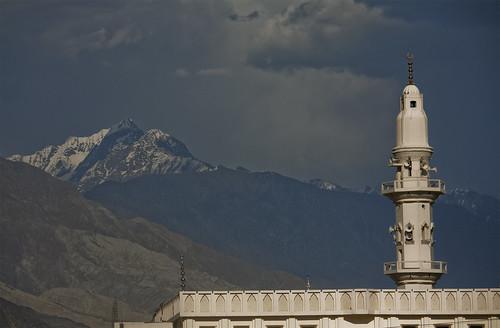 Mountains with minaret | by lukexmartin