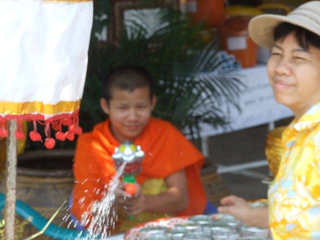 Chiang Mai, Songkran, 12-15 avril 2008