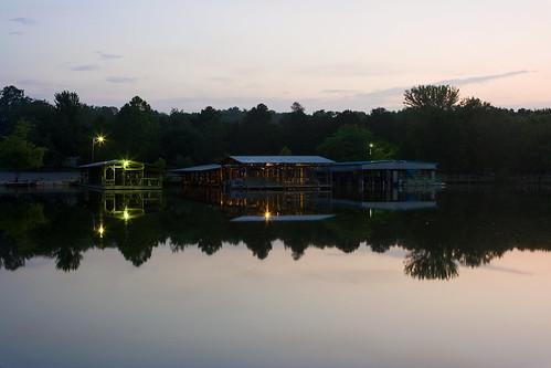 longexposure water sunrise reflections lakes boatdocks lakefayetteville