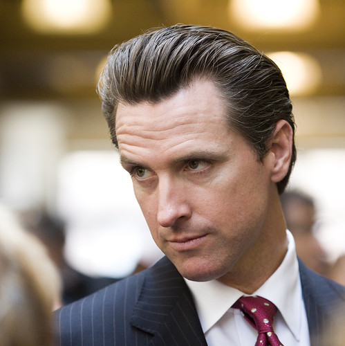 San Francisco Mayor Gavin Newsom | by Thomas Hawk