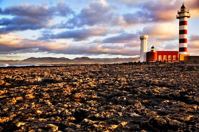 Faro de Tostòn, Fuerteventura, Islas Canarias (España)