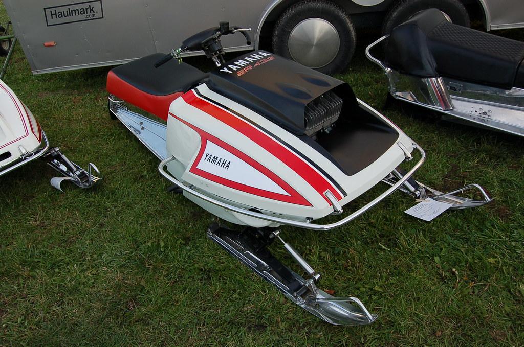 1973 Yamaha SR 433 | Another shot of the '73 Yamaha SR 433